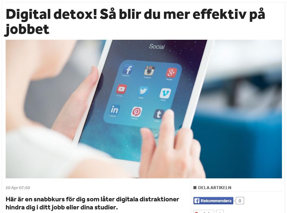 Skärmdump från Shortcut.se